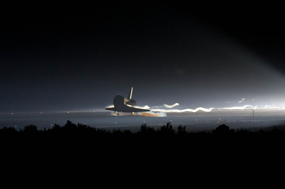 NASA end of an era, STS-135 Landing