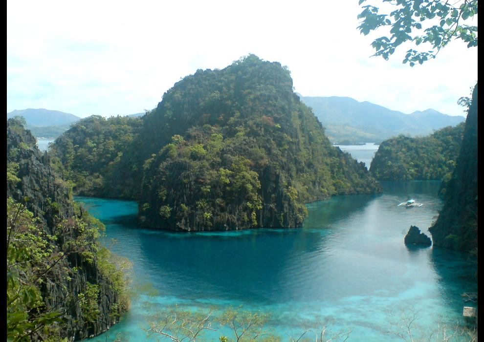 Picture perfect. The famous Coron Island Cove, with a view to die for