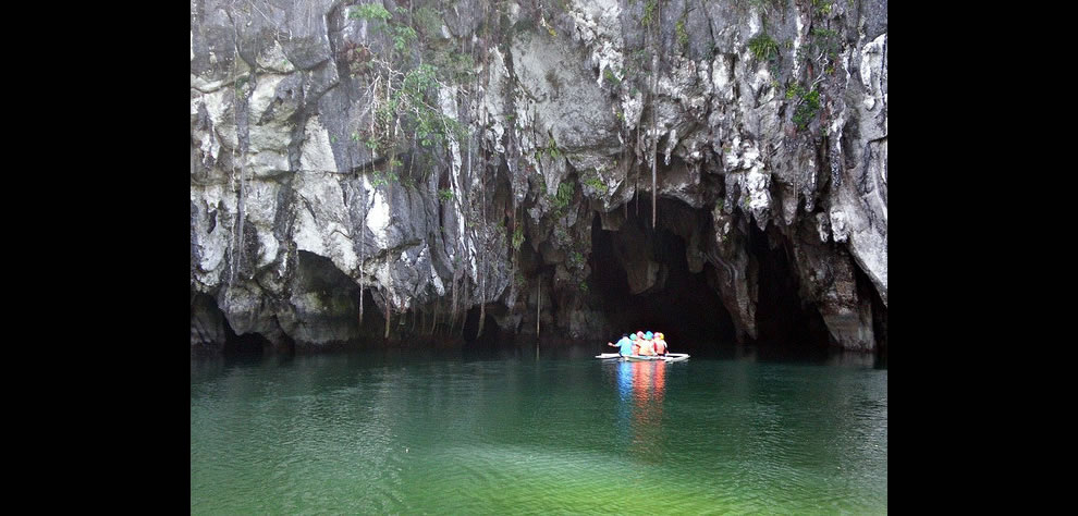 Underground river at Puerto Princesa, Philippines