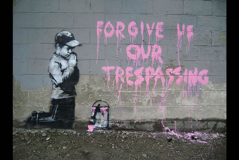 Banksy forgive us