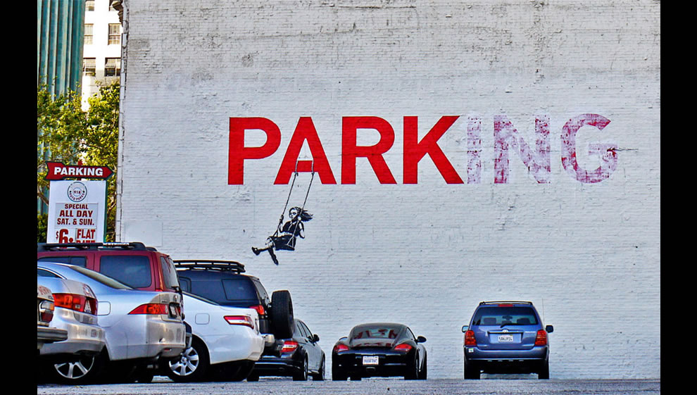park ~ Banksy
