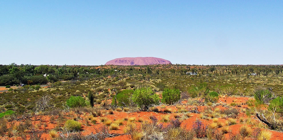Ayers Rock-view from 50k