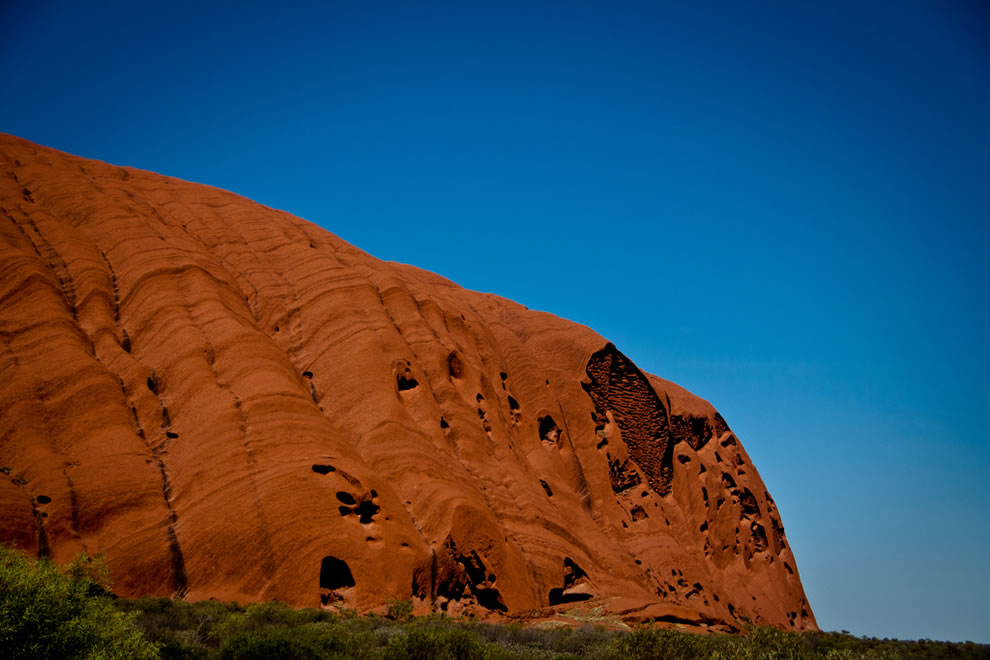 Crumbling Ayers Rock