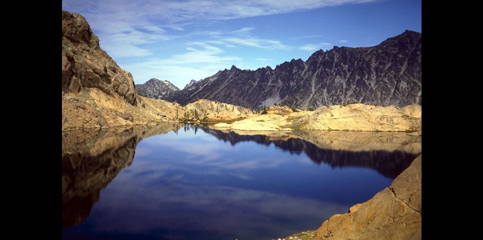 Ingalls Lake in the Alpine Wilderness of Washington's Cascade Mountains