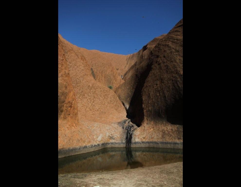 Uluru Waterfall