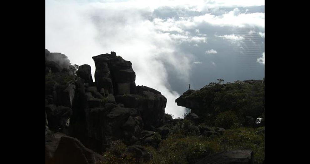Angel Falls climber