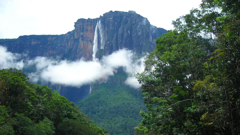 Angel Falls the artistry of nature in all her glorious wonder