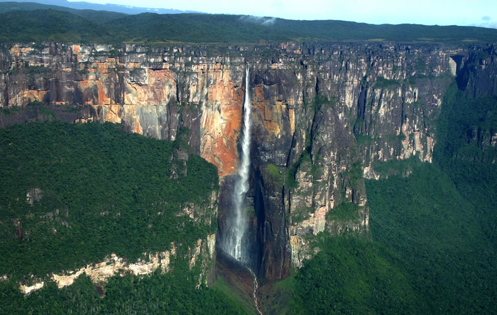 Angel Falls world&#039;s highest free-falling waterfall