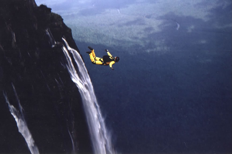 Base Jump Angel Falls Venezuela