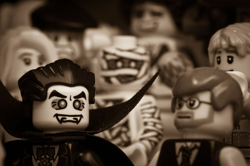 Count Von Lego Dracula's victims