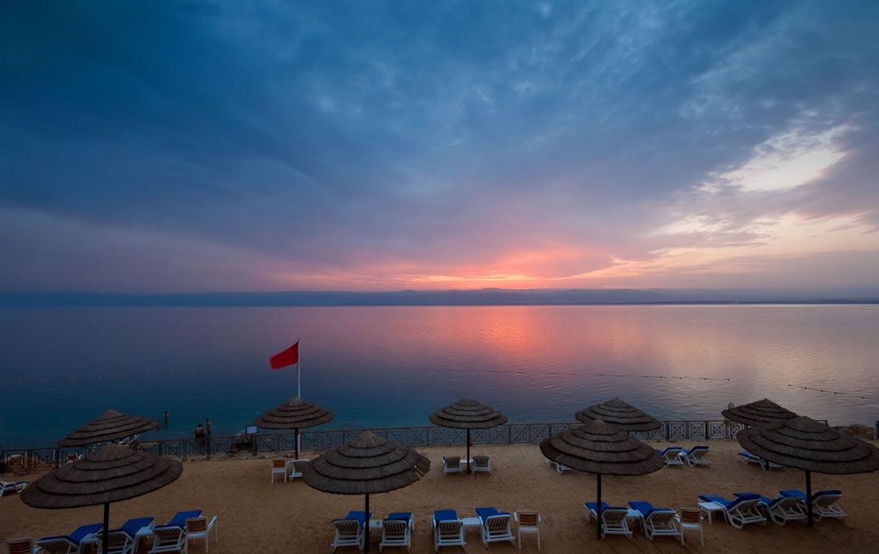 Dead Sea - 410 Meters Below Sea Level