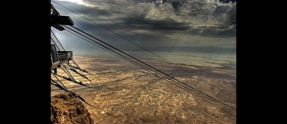 Dead Sea cablecar