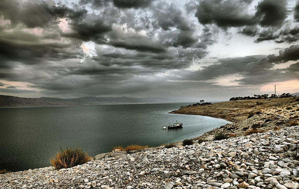 Dead Sea seascape