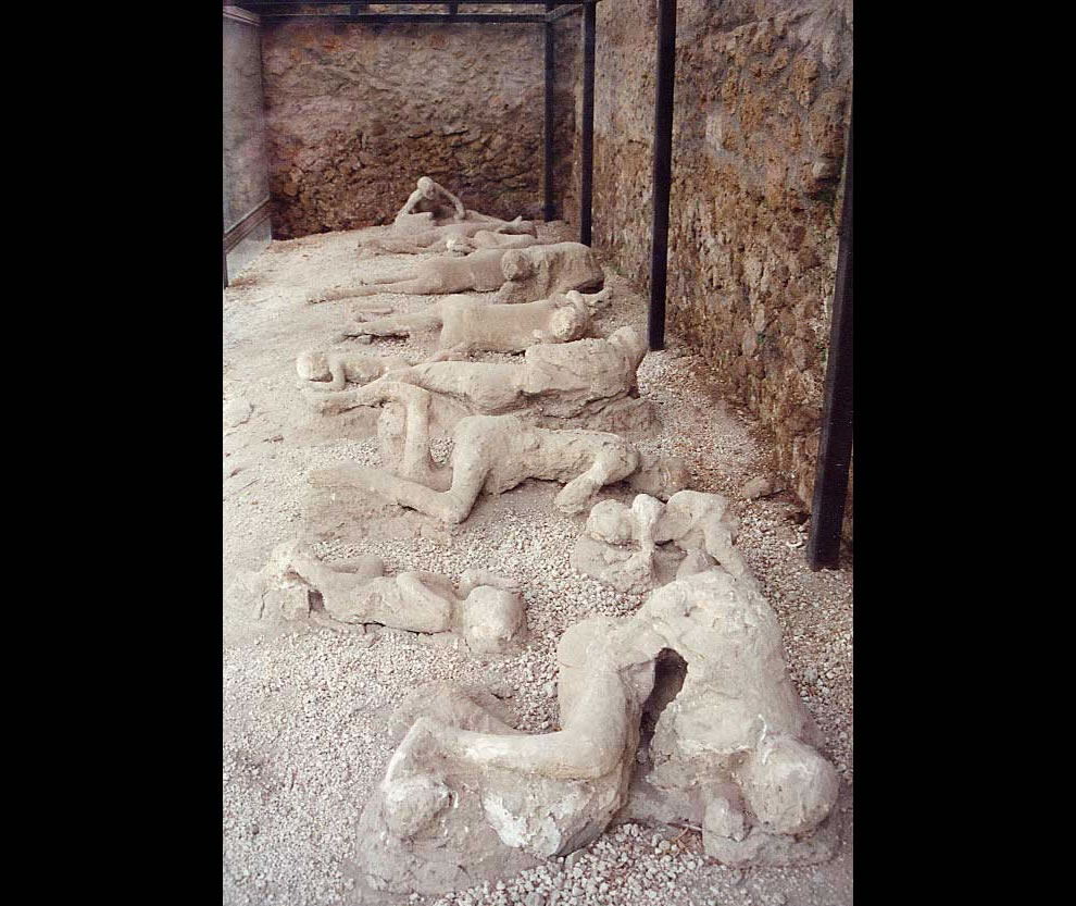 Garden of the fugitives, Pompeii