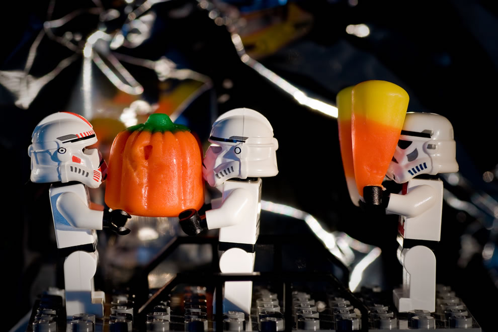 Lego Star Wars Pumpkin Duty