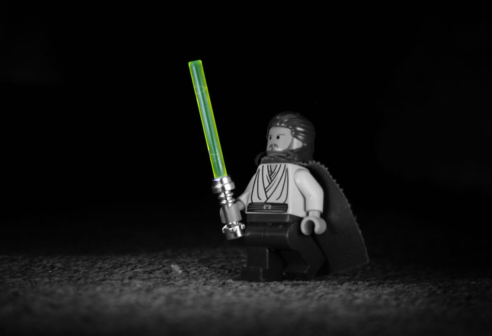 Lego Star Wars lightsaber