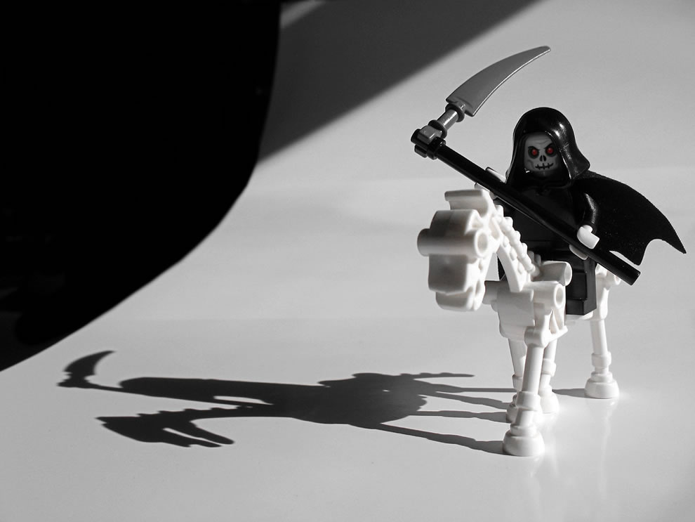 Lego The Grim Reaper