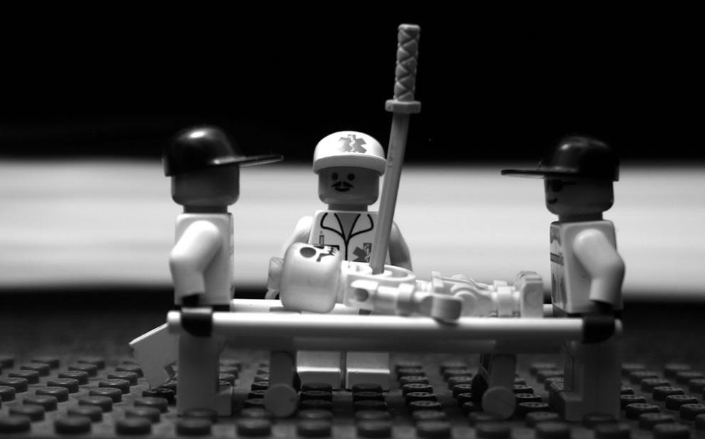 Lego stretcher