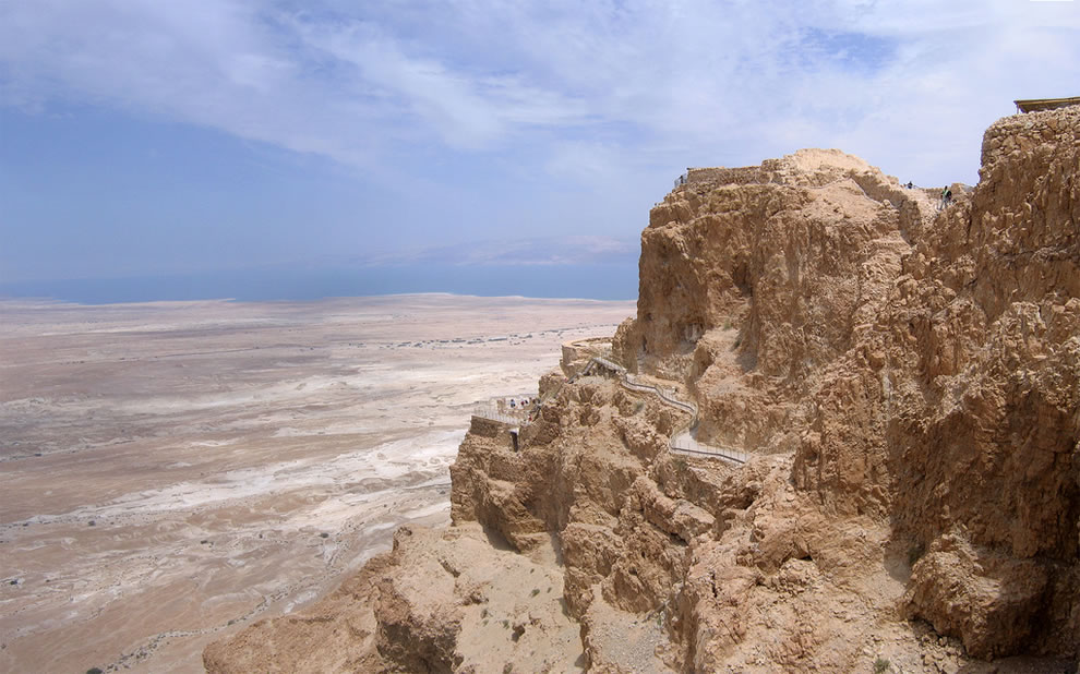 Masada, Archeological sites of Israel, west of the Dead Sea