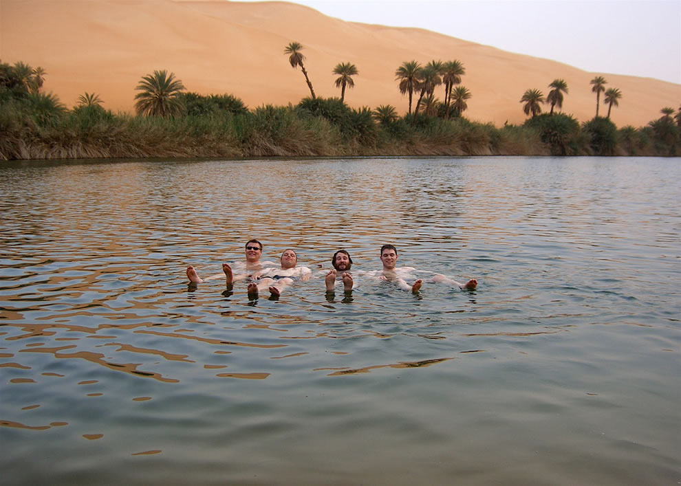 More Dead Sea floaters