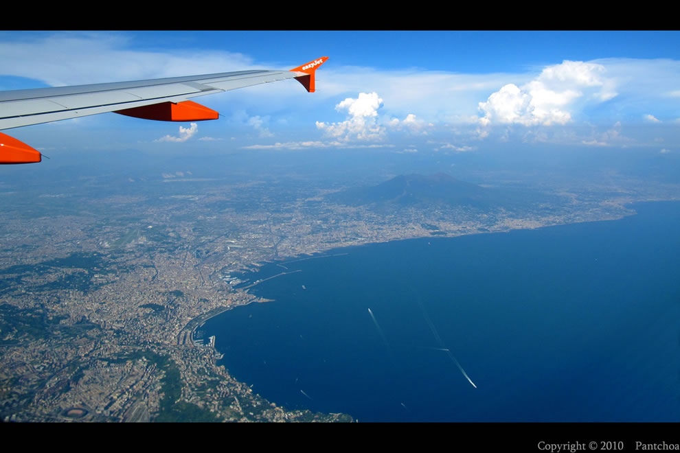 Naples from the sky