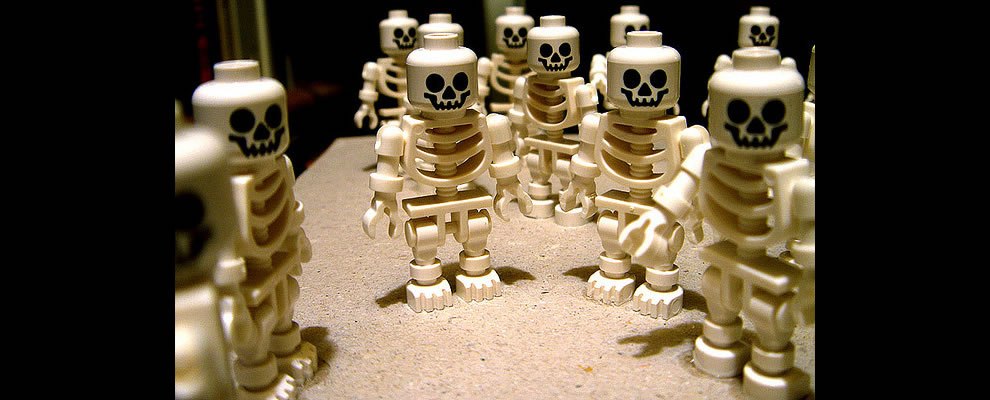 Spooky Lego