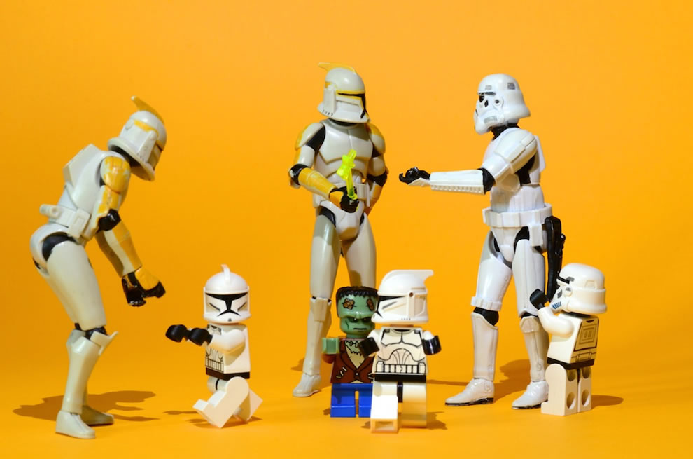 The short-legged Frankenstein meets the Clones