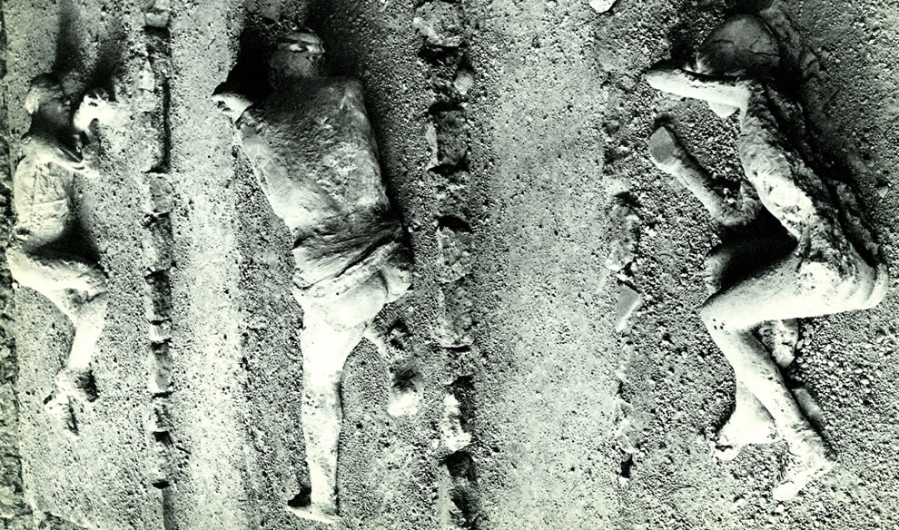Vesuvio victims in Pompeii