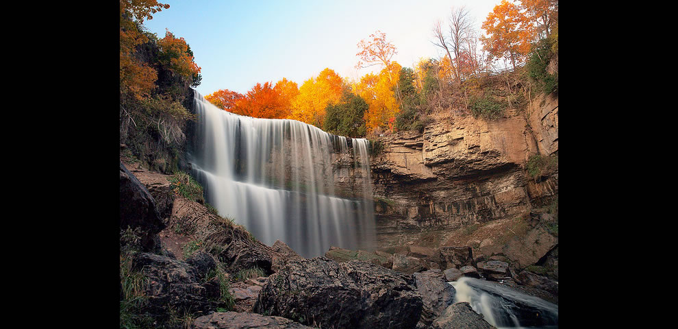 Webster Falls, Dundas Peak, Ontario Canada