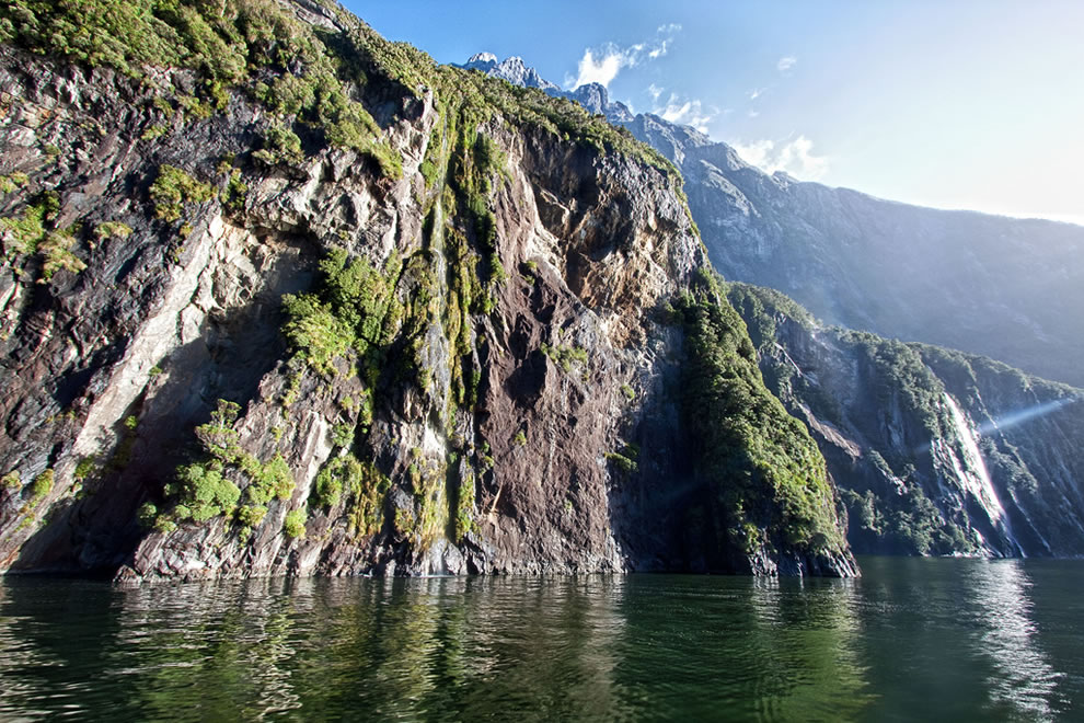 &#039;A Steep Incline&#039;, New Zealand, Milford Sound