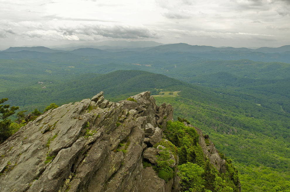 Atop Grandfather Mountain