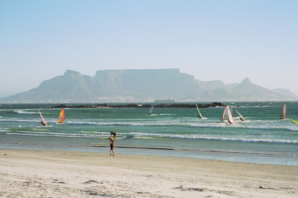 Big Bay view of Table Mountain
