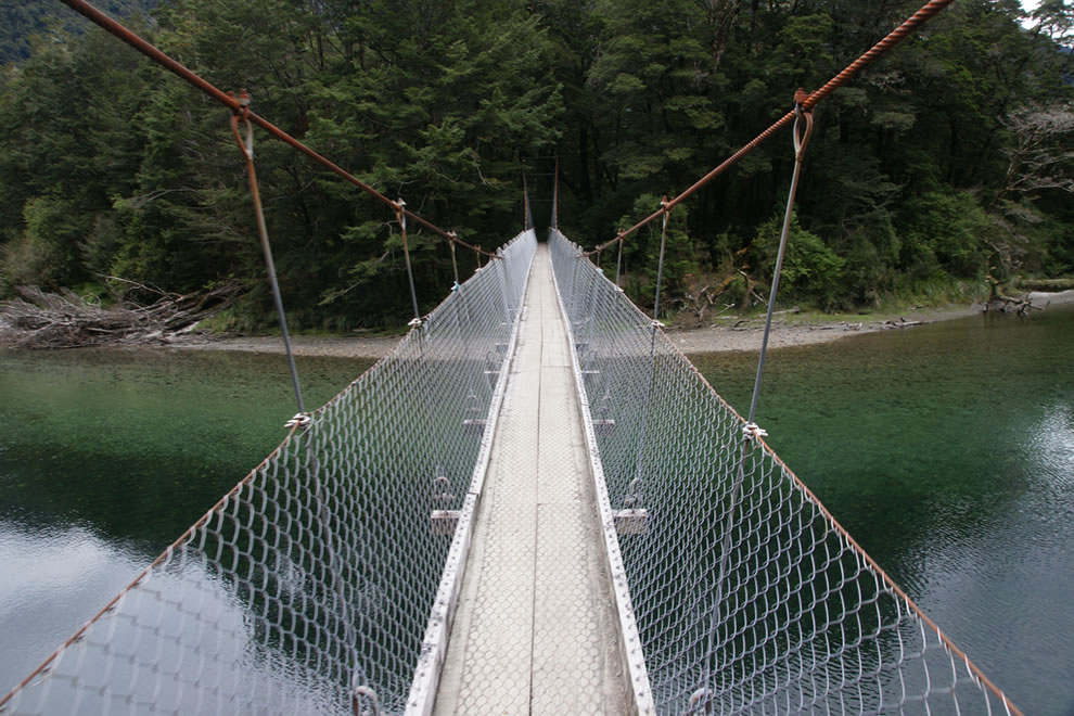 Bridge on the Milford Track