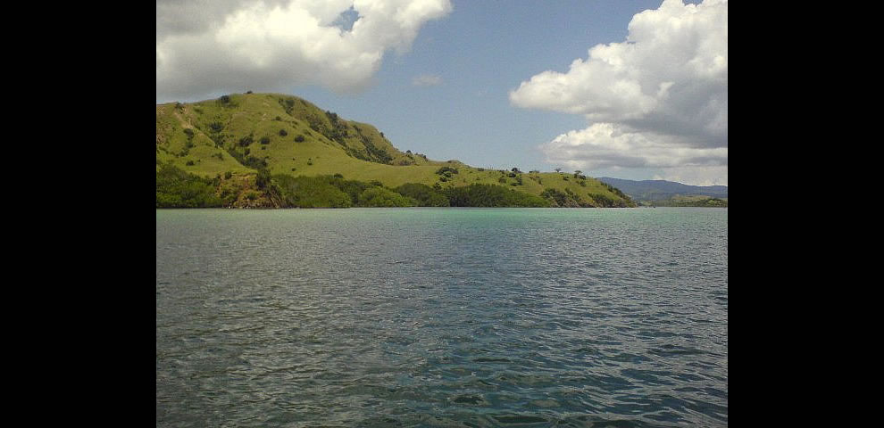 Island near Komodo NP