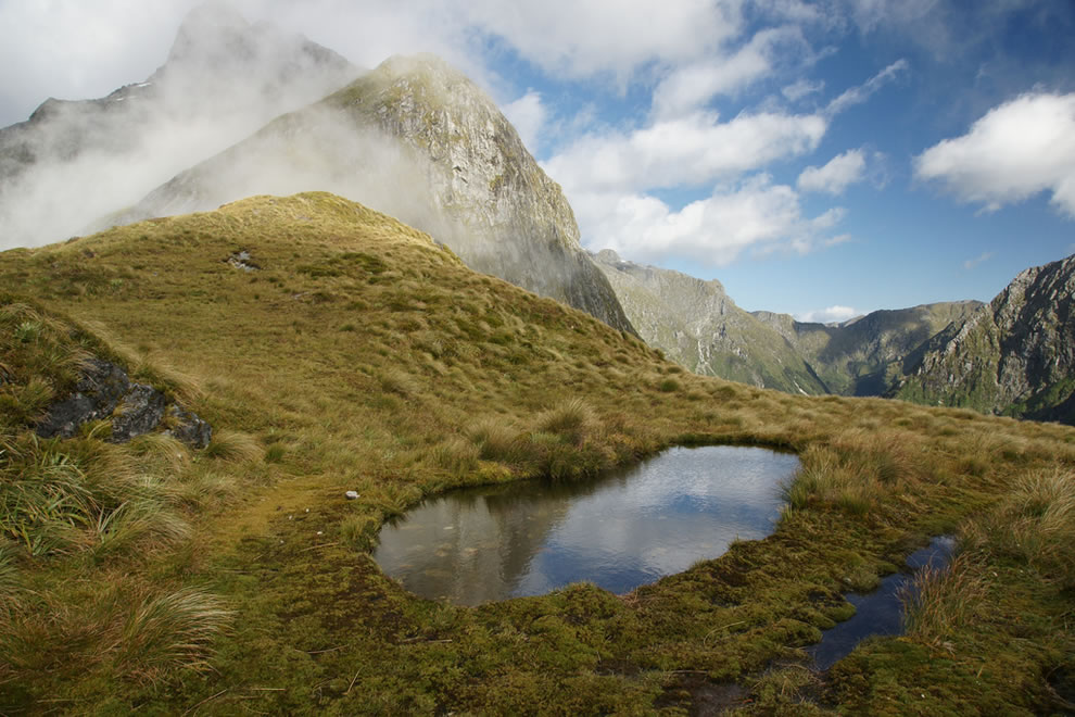 McKinnon Pass, Milford Track, Fjordland National Park, South Island, New Zealand