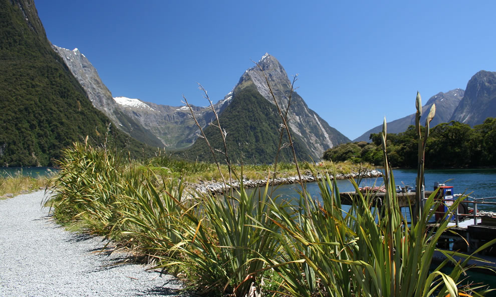 Milford Sound, Mitre Peak