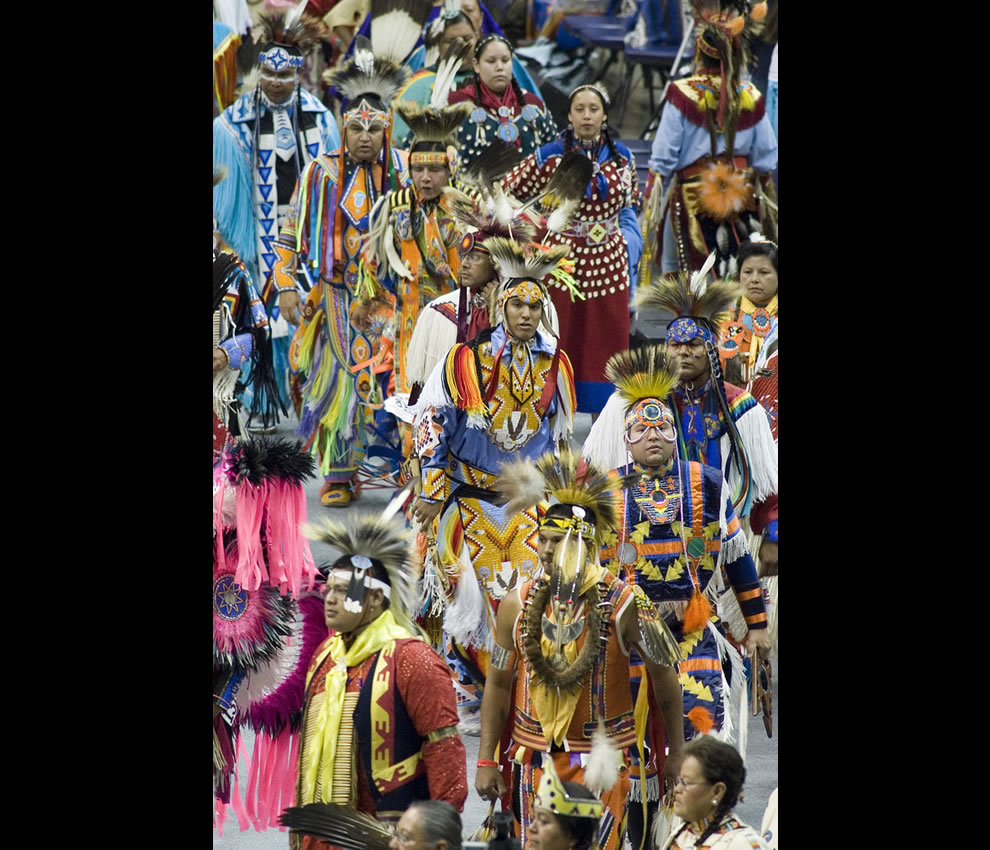 Native Americans at National Pow Wow