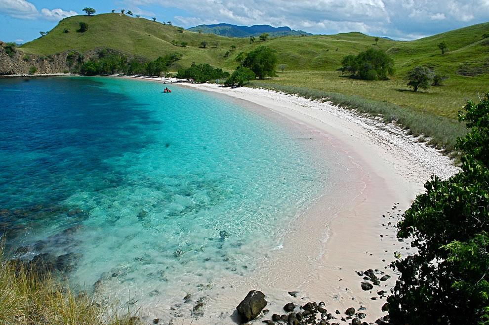 Pink Beach of Komodo