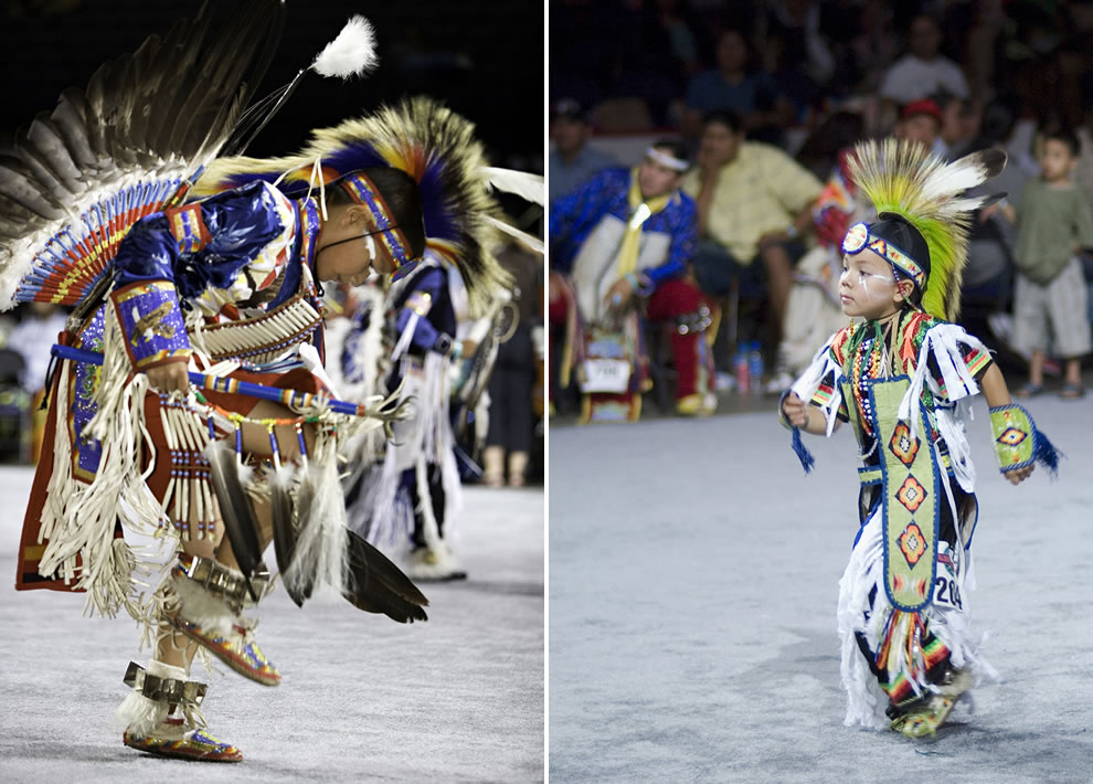 Adorable boys at National PowWow