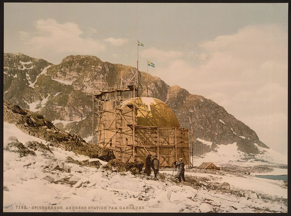 Andree's Station at Danskoen, Spitzbergen, Norway photochrom