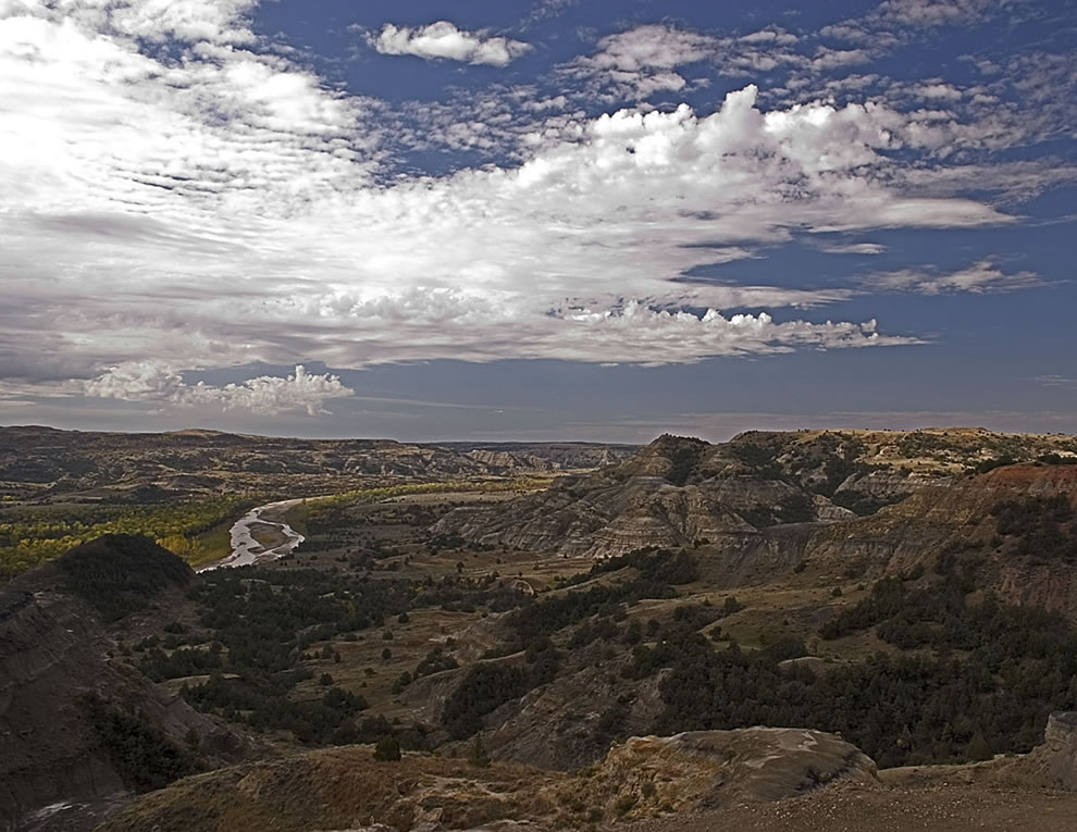 Landscape Theodore Roosevelt National Park