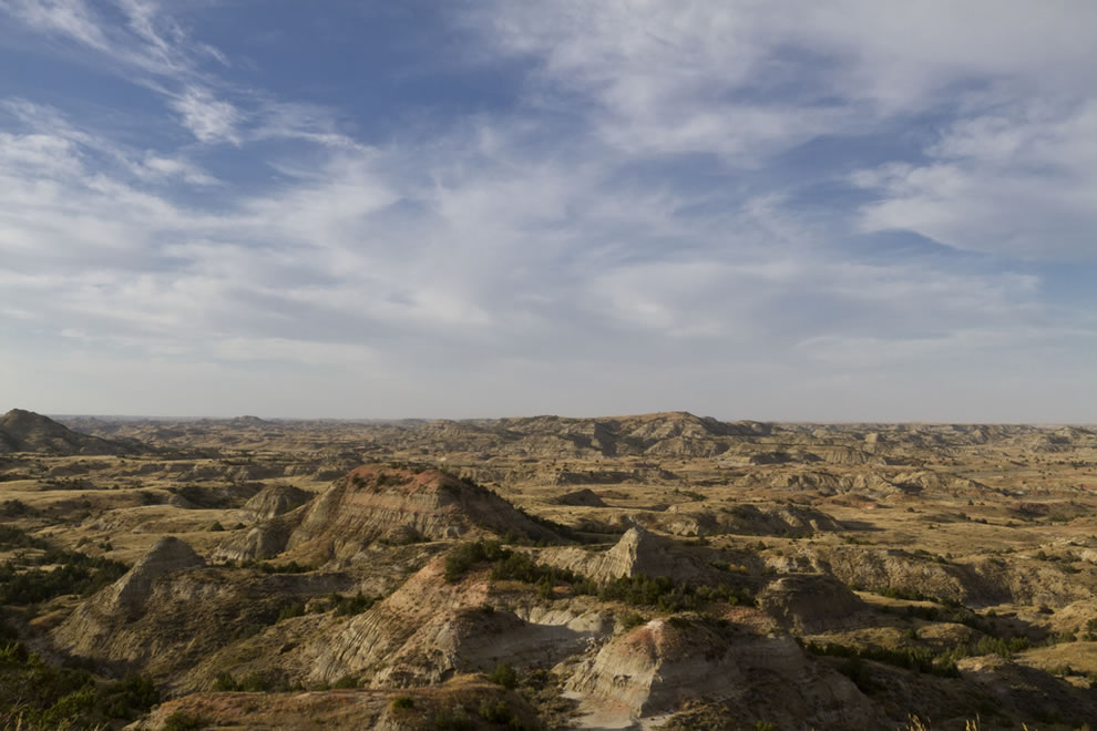 Painted Canyons, Theodore Roosevelt National Park, North Dakota