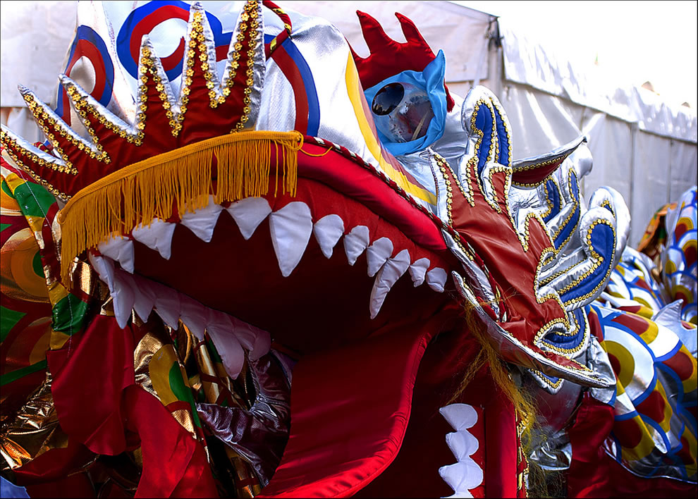 Chinese Lunar New Year, beware of the dragon