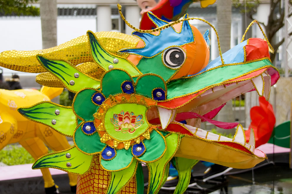 Dragon at the Lunar New Year Thematic Lantern Exhibition