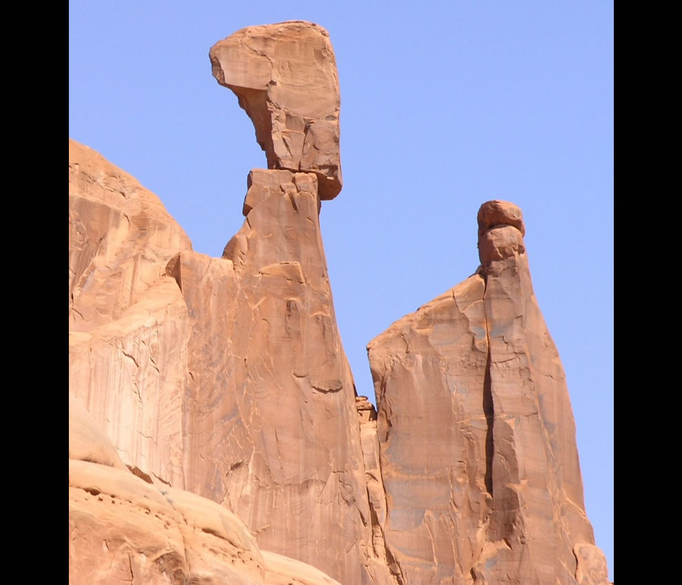 Queen Nefertiti Rock in Arches NP