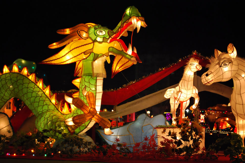 taoyuen lantern festivaltakes place at the end of the chinese - Chinese New Year 2012