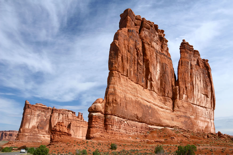 The Organ at Arches National Park Utah