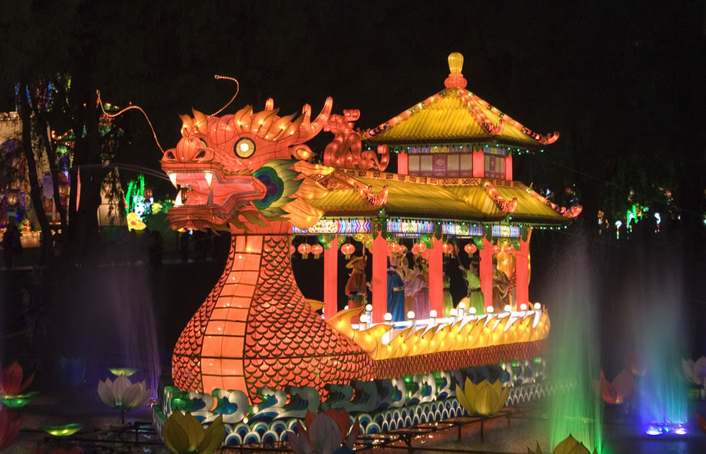 The Song Emperor, dragon boat, Chinese Lantern Festival