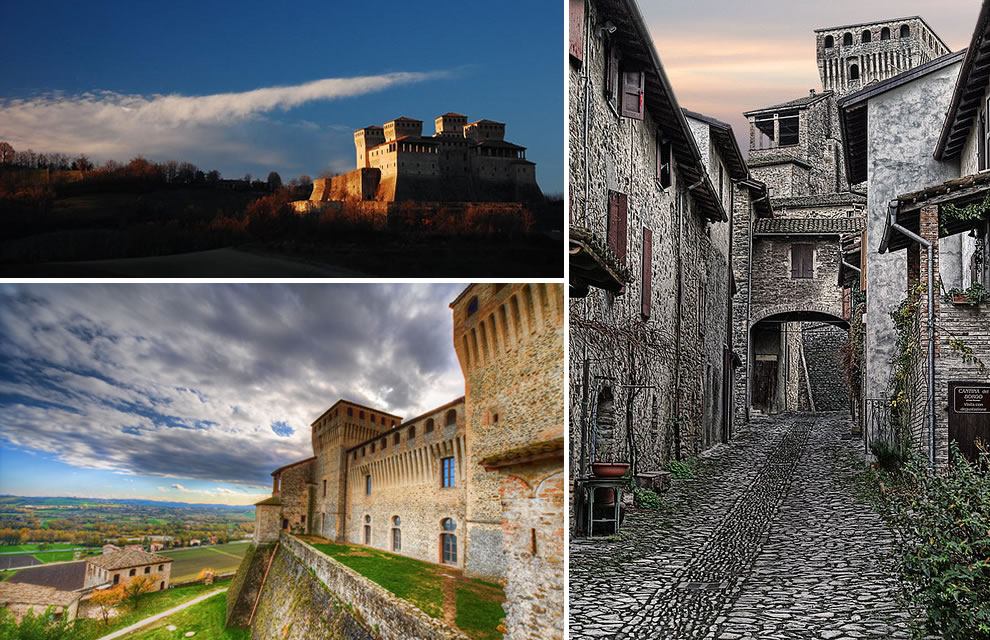 Castle of Torrechiara - built for his lover