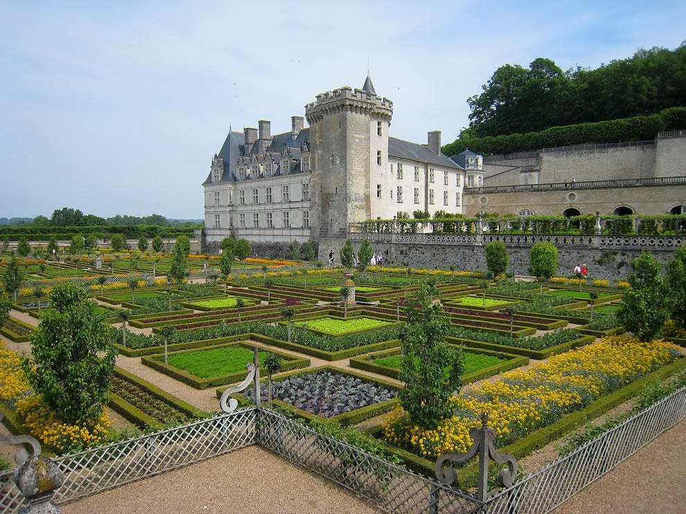 Chateau Villandry, potager